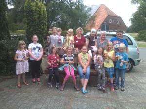 2015  08.24.  Bild der Teilnehmer an der Ferienpassaktion